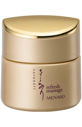 Женское освежающий крем массажный saranari  MENARD бесцветного цвета, арт. 221436 | Фото 1