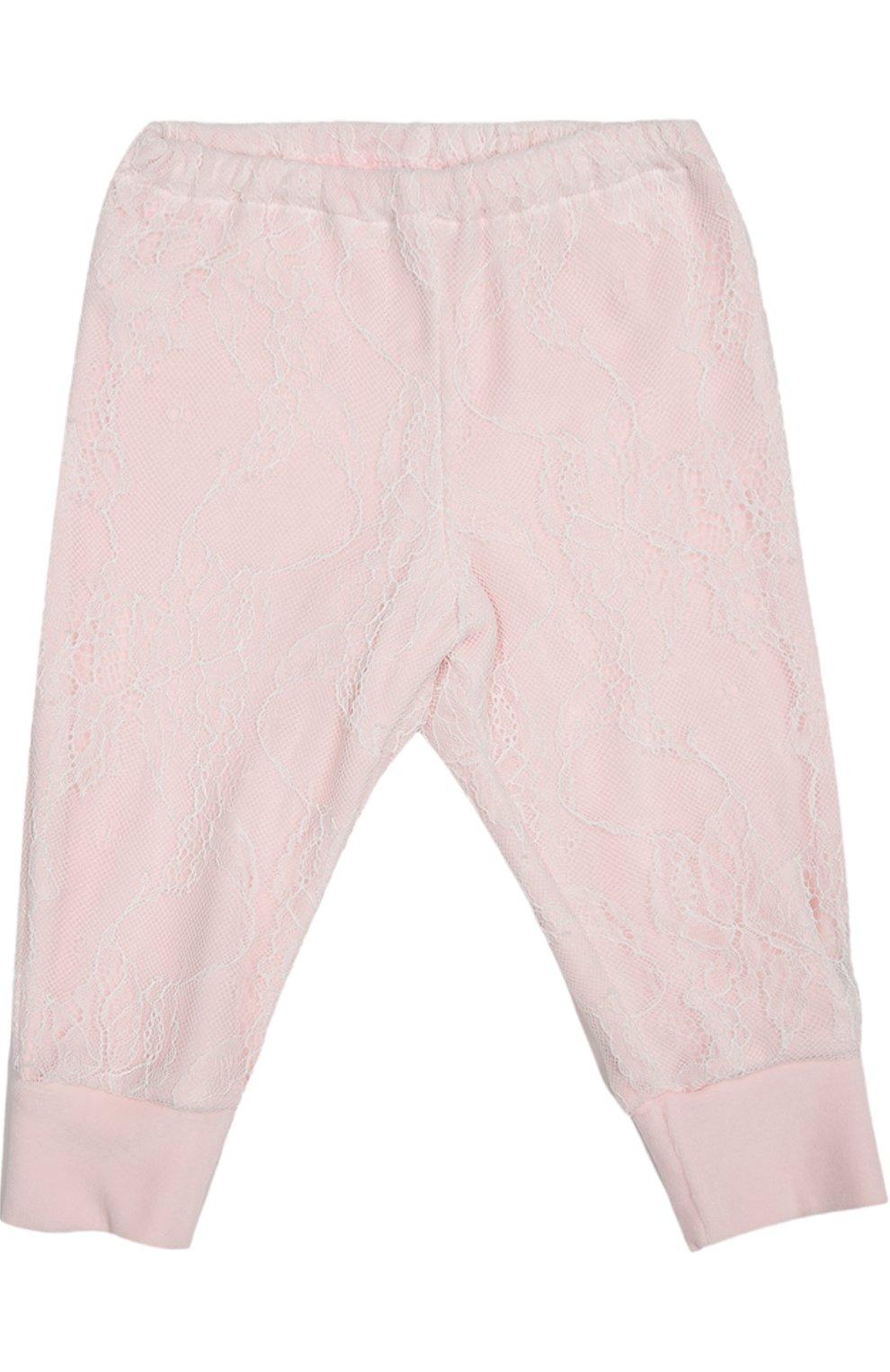 Детский костюм спортивный с футболкой  ALETTA розового цвета, арт. RP666112CIN/1M-18M | Фото 7