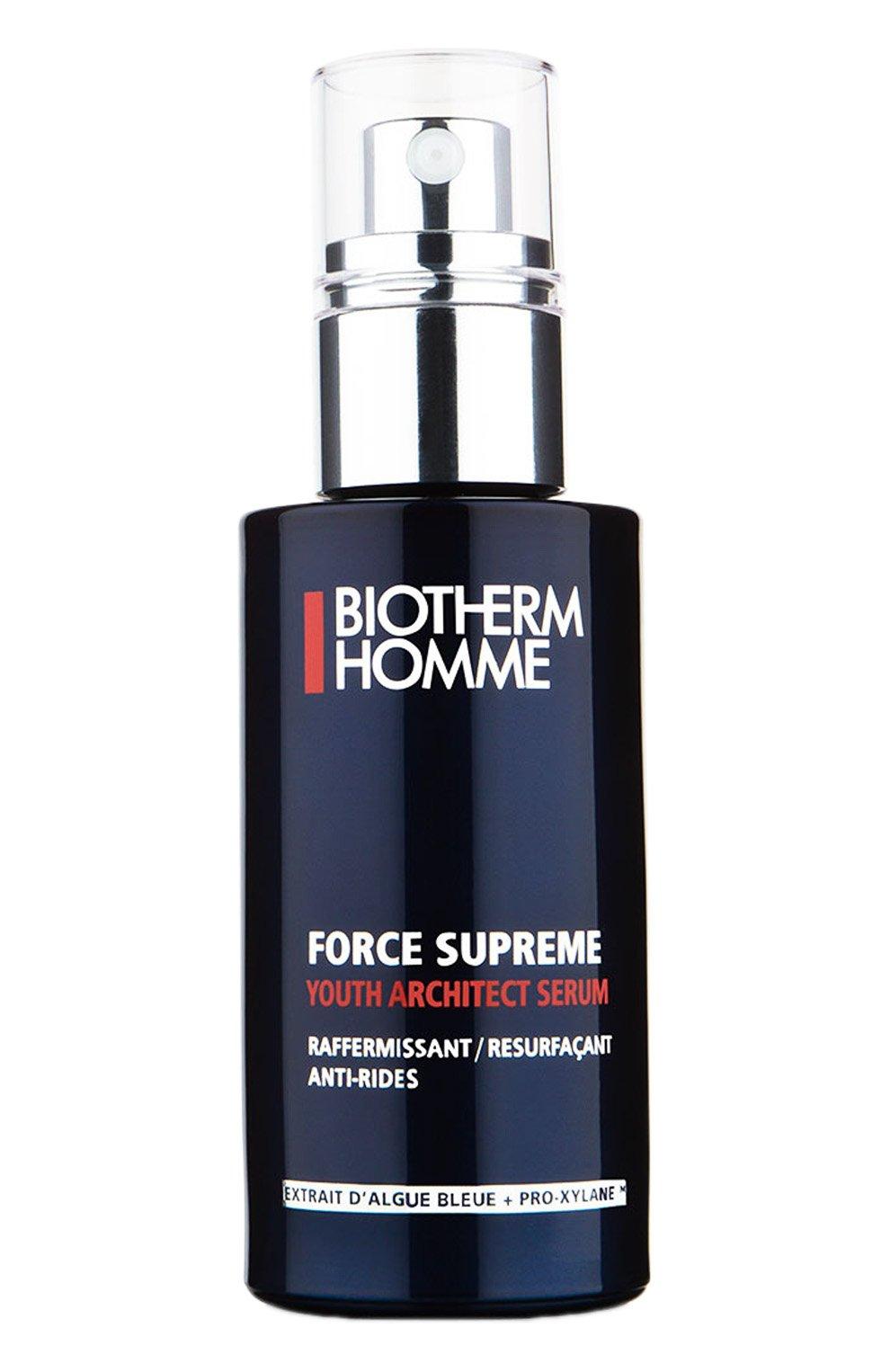 Мужское антивозрастная сыворотка force supreme youth architector  BIOTHERM бесцветного цвета, арт. 3605540667170 | Фото 1