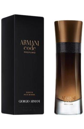 Мужской парфюмерная вода armani code profumo GIORGIO ARMANI бесцветного цвета, арт. 3614270581656 | Фото 1
