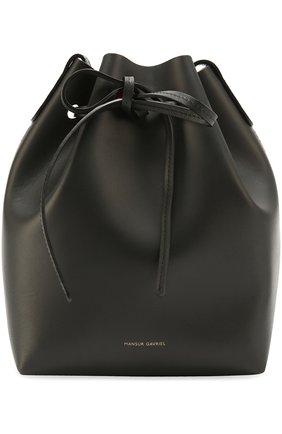 Сумка Mini Bucket Mansur Gavriel черная цвета   Фото №1