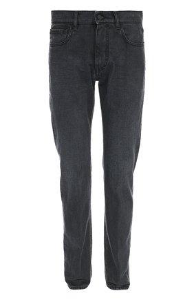 Зауженные джинсы с классической посадкой | Фото №1