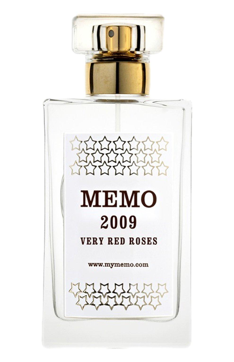 Мужской аромат для дома very red roses MEMO бесцветного цвета, арт. SP502009 | Фото 1