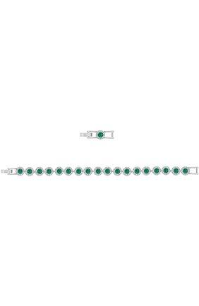 Женский браслет angelic SWAROVSKI зеленого цвета, арт. 5237769 | Фото 2