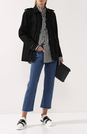 Френч с накладными карманами и шипами | Фото №2