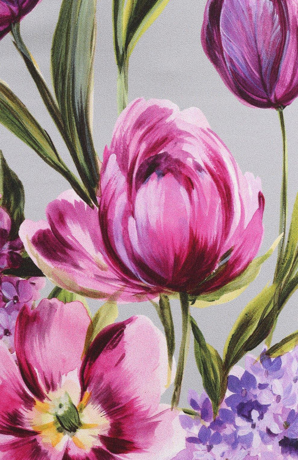 Юбка-карандаш с цветочным принтом | Фото №5