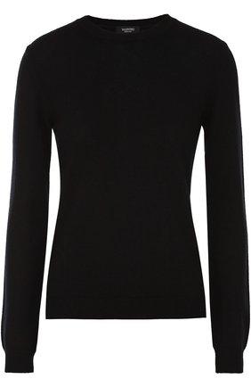 Кашемировый пуловер с заклепками | Фото №1