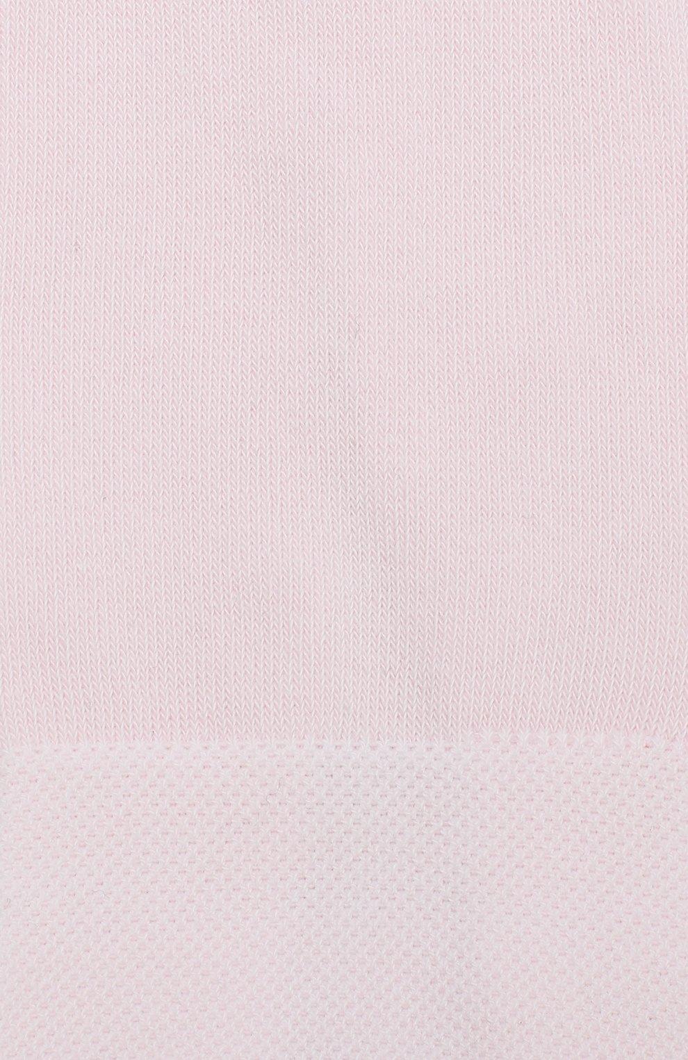 Детские колготки из хлопка FALKE розового цвета, арт. 13645   Фото 2