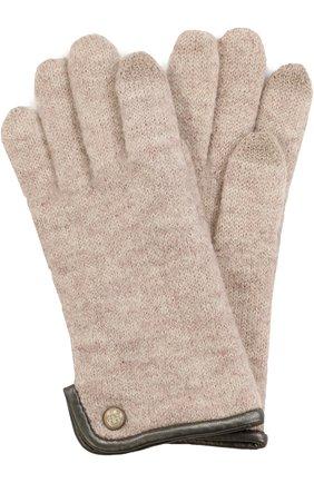 Вязаные шерстяные перчатки | Фото №1