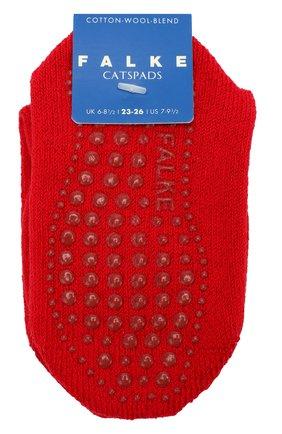 Детские носки catspads FALKE красного цвета, арт. 10500 | Фото 1