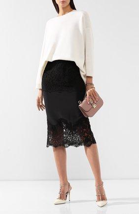 Женская кожаные туфли valentino garavani rockstud VALENTINO белого цвета, арт. ZW2S0393/V0D | Фото 2