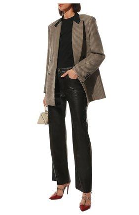 Женская кожаные туфли valentino garavani rockstud VALENTINO красного цвета, арт. ZW2S0393/V0D | Фото 2