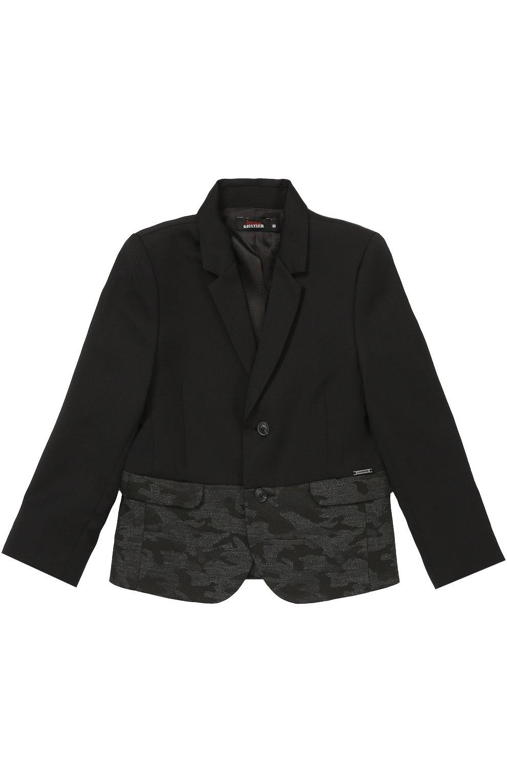 Пиджак из шерсти с декоративной отделкой | Фото №1