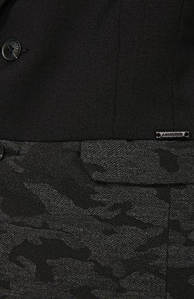 Пиджак из шерсти с декоративной отделкой | Фото №2