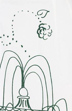 Юбка-карандаш с контрастным принтом | Фото №5