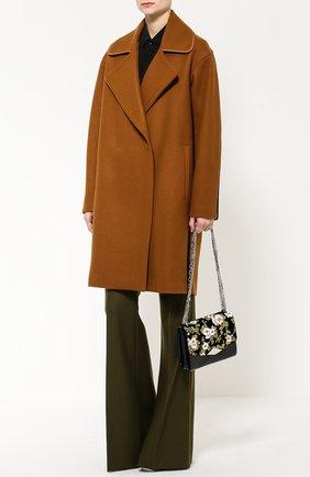 Женская сумка palais royal с вышивкой и отделкой бархатом ROCHAS черного цвета, арт. R0BI855167/RI390640A | Фото 2