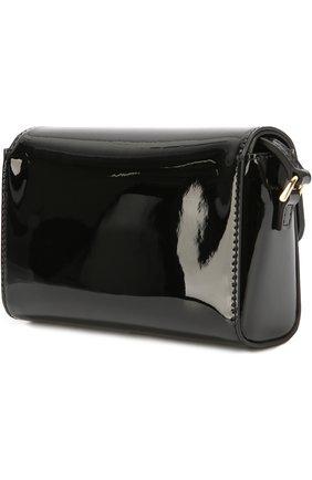 Детская сумка из лаковой кожи DOLCE & GABBANA черного цвета, арт. 0130/EB0071/A1471 | Фото 2