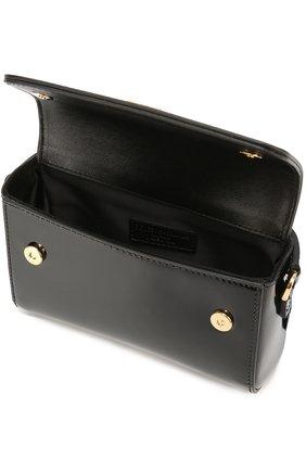 Сумка из лаковой кожи Dolce & Gabbana черного цвета   Фото №3
