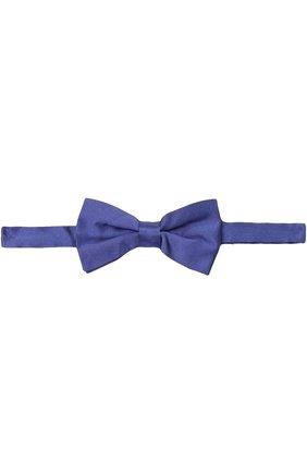 Детский галстук-бабочка DAL LAGO синего цвета, арт. N301/168 | Фото 1