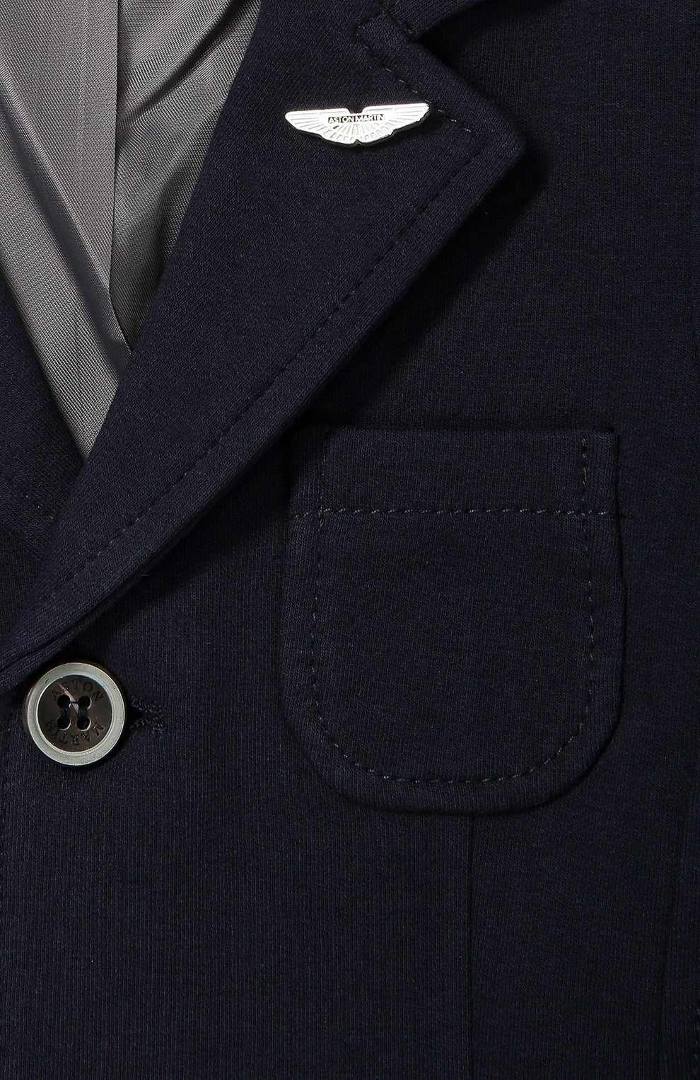 Хлопковый однобортный пиджак | Фото №2