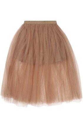 Пышная многослойная юбка | Фото №1