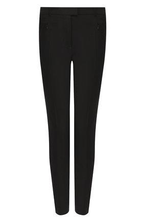 Женские брюки BOSS черного цвета, арт. 50290225 | Фото 1