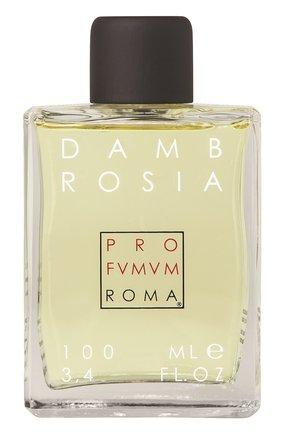 Женский духи dambrosia PROFUMUM ROMA бесцветного цвета, арт. 9780201379723 | Фото 1