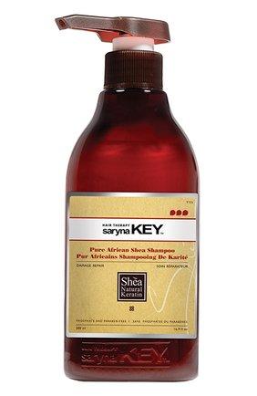 Восстанавливающий шампунь для поврежденных волос Damaged Repair Saryna Key | Фото №1