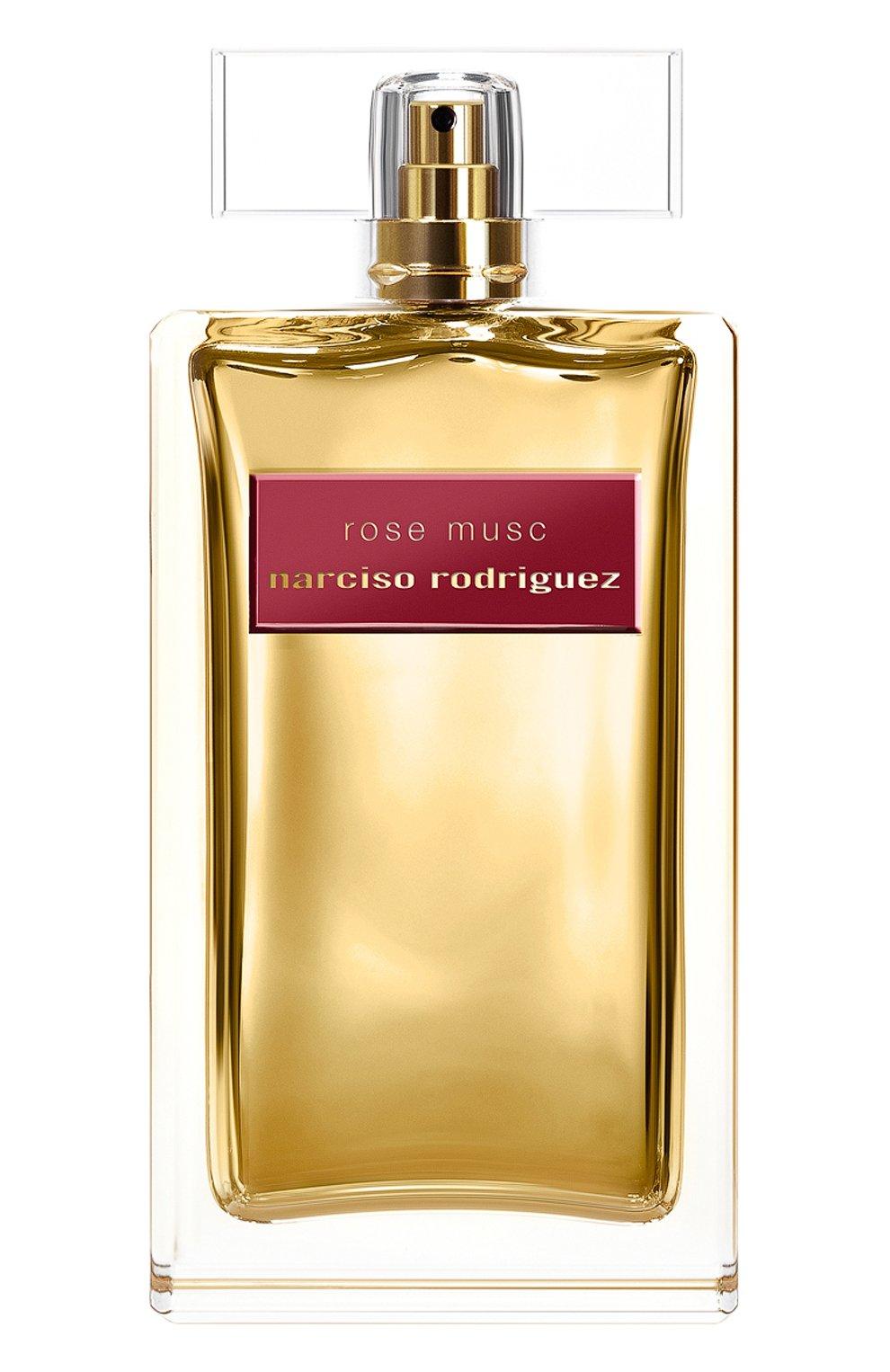 Женский парфюмерная вода rose musc NARCISO RODRIGUEZ бесцветного цвета, арт. 881215BP   Фото 1