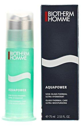Мужского увлажняющий крем для сухой кожи aquapower BIOTHERM бесцветного цвета, арт. 3614271404756 | Фото 1