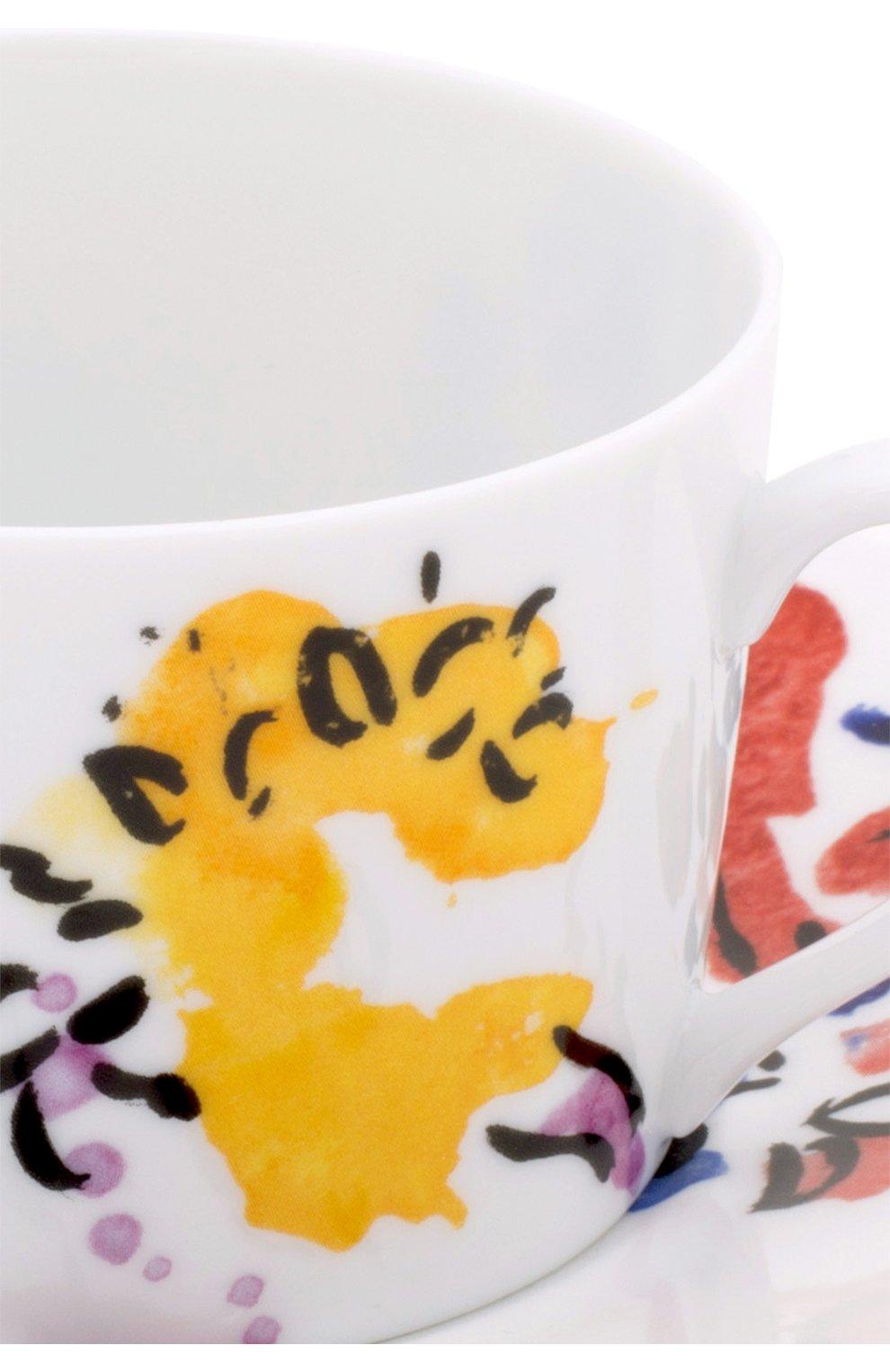 Мужского набор из 2-х чашек с блюдцами BERNARDAUD разноцветного цвета, арт. 1168/21420   Фото 2