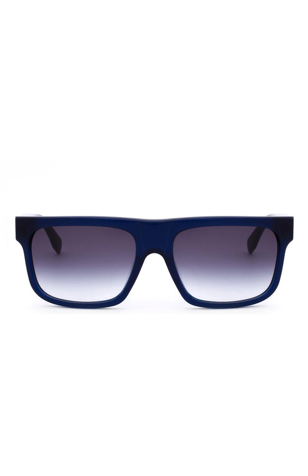 Женские солнцезащитные очки ALEXANDER MCQUEEN синего цвета, арт. 0037 004 | Фото 1