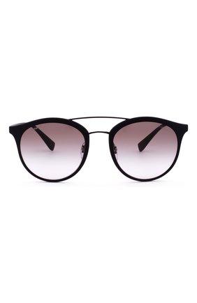 Женские солнцезащитные очки prada linea rossa PRADA черного цвета, арт. 04RS-DG00A7 | Фото 1
