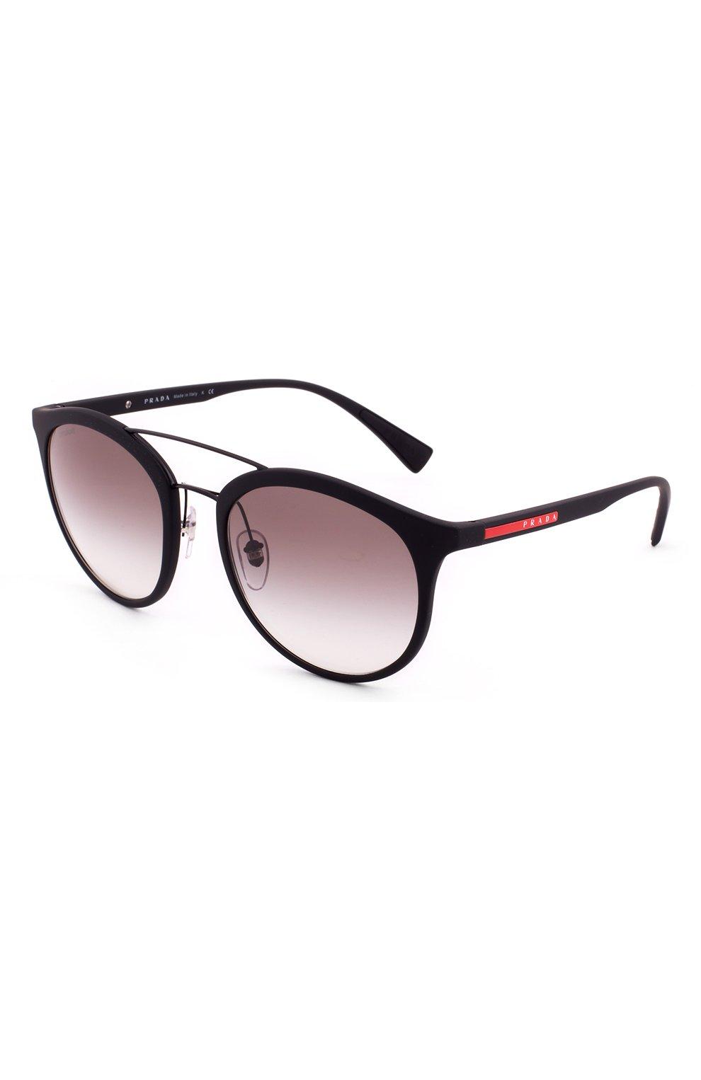 57ed603af2d6 Мужские черные солнцезащитные очки prada linea rossa PRADA — купить ...