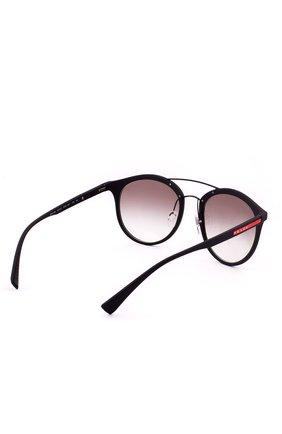 Женские солнцезащитные очки prada linea rossa PRADA черного цвета, арт. 04RS-DG00A7 | Фото 3