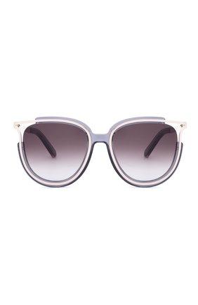 Солнцезащитные очки Chloé фиолетовые | Фото №1
