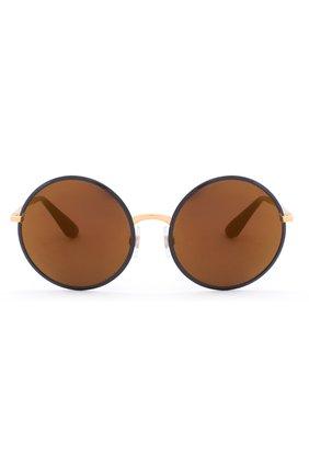 Солнцезащитные очки Dolce & Gabbana синие | Фото №1