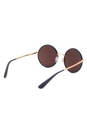 Солнцезащитные очки Dolce & Gabbana синие | Фото №3