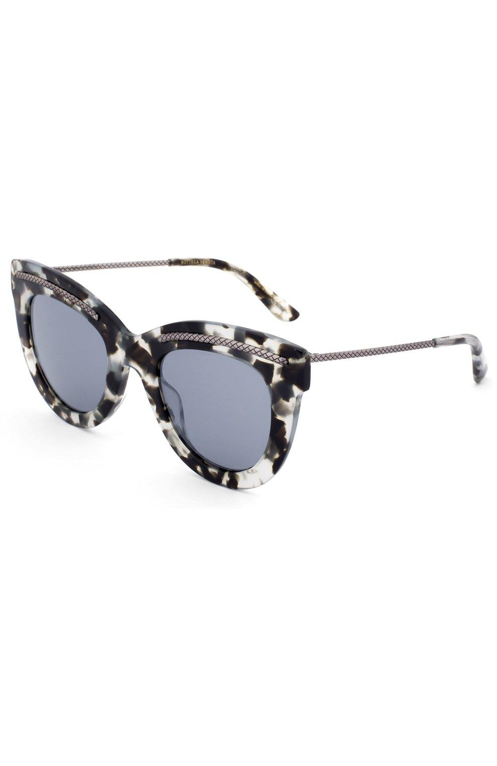 Женские солнцезащитные очки BOTTEGA VENETA хаки цвета, арт. 0030 005 | Фото 1