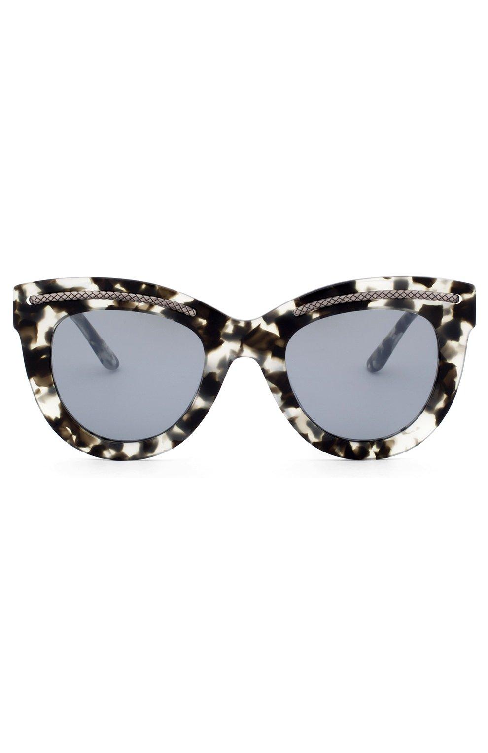 Женские солнцезащитные очки BOTTEGA VENETA хаки цвета, арт. 0030 005 | Фото 2