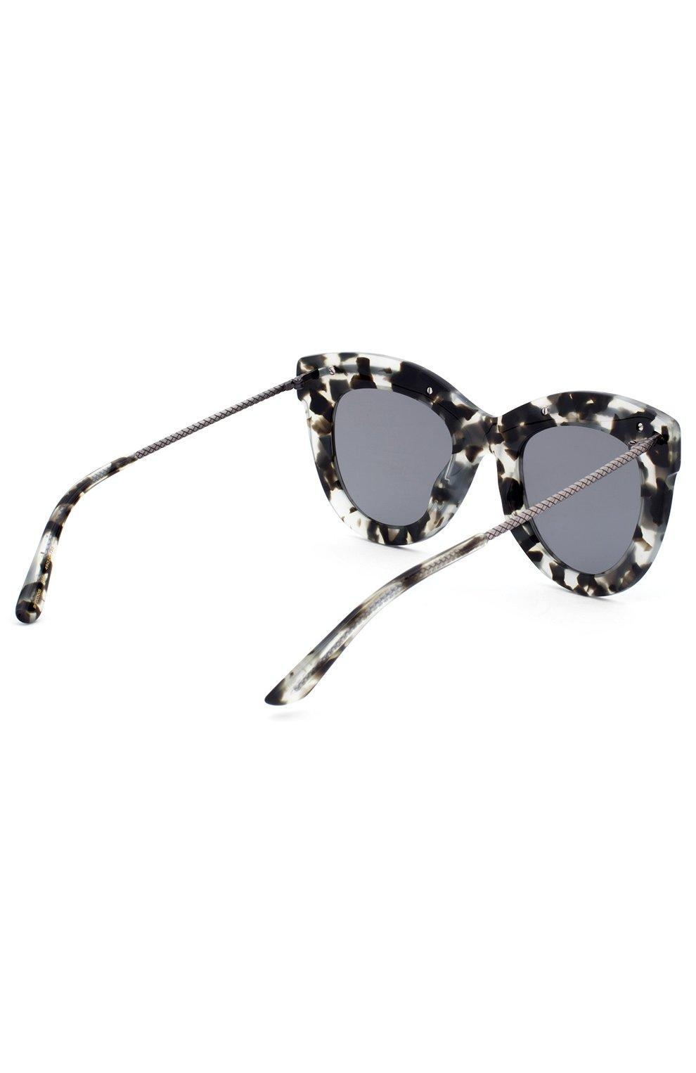 Женские солнцезащитные очки BOTTEGA VENETA хаки цвета, арт. 0030 005 | Фото 3