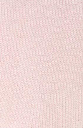 Детские носки из хлопка FALKE розового цвета, арт. 10645 | Фото 2