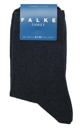 Детские носки из хлопка FALKE синего цвета, арт. 10645 | Фото 1