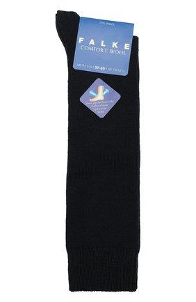 Детские гольфы comfort wool FALKE синего цвета, арт. 11488 | Фото 1