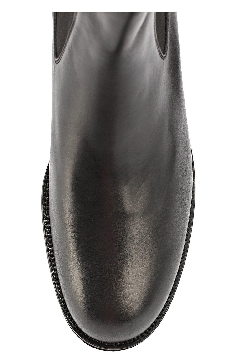 Кожаные челси Gomma Light WP Tod's черные | Фото №4