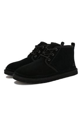 Замшевые ботинки Neumel | Фото №1