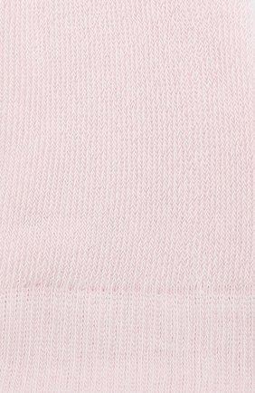 Детские колготки из хлопка FALKE розового цвета, арт. 13615 | Фото 2