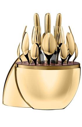 Набор столовых приборов Mood Gold из 24 предметов | Фото №1