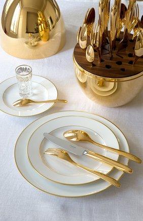 Мужского набор столовых приборов mood gold из 24 предметов CHRISTOFLE золотого цвета, арт. 00865299 | Фото 4