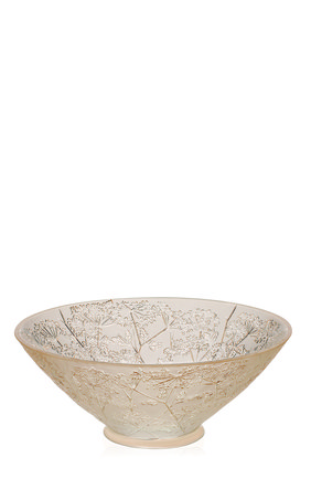 Мужского ваза для фруктов ombelles LALIQUE золотого цвета, арт. 10570500 | Фото 1